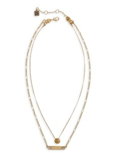 Laundry by Shelli Segal Gold Rush Goldtone & Crystal Necklace