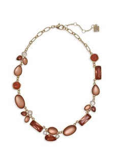 Laundry by Shelli Segal Goldtone & Crystal Statement Necklace