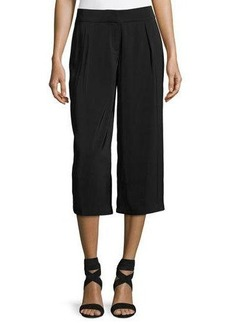 Laundry By Shelli Segal High-Waist Pleated Culotte Pants