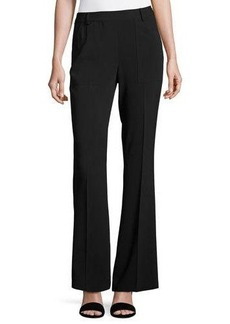 Laundry By Shelli Segal High-Waist Stretch Crepe Pants