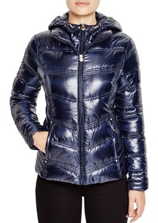 Laundry by Shelli Segal Hooded Quilted Puffer Jacket