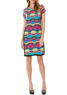 Laundry by Shelli Segal 'Hourglass' Print Jersey Shift Dress
