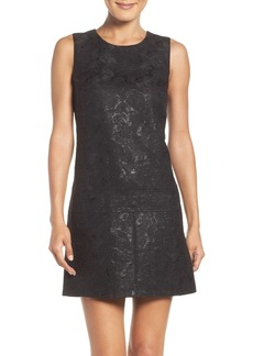 Laundry by Shelli Segal Jacquard Drop Waist Dress