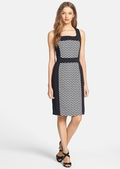 Laundry by Shelli Segal Jacquard Sheath Dress (Regular & Petite)