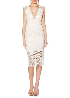 Laundry by Shelli Segal Lace Bodycon Dress