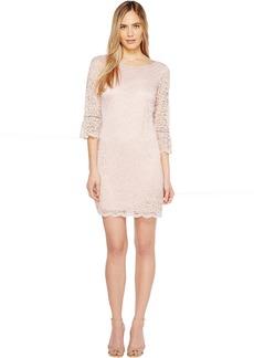 Laundry by Shelli Segal Lace Dress with 3/4 Sleeve