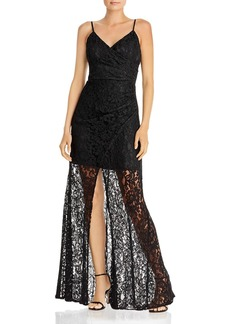 Laundry by Shelli Segal Lace Gown