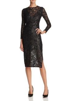 Laundry by Shelli Segal Lace Midi Dress