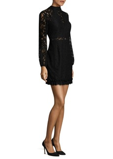 Laundry by Shelli Segal Lace Mini Dress