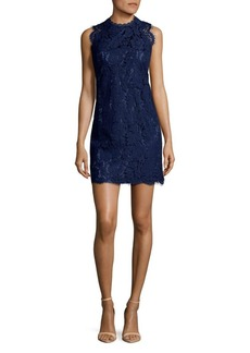 Laundry by Shelli Segal Lace Open Back Cocktail Dress