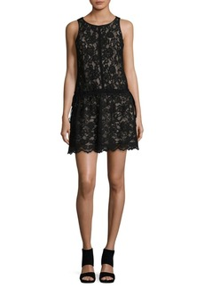 Laundry by Shelli Segal Lace Sleeveless Sheath Dress