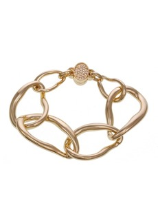 Laundry by Shelli Segal Large Link Bracelet with Magnetic Closure