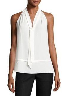 Laundry By Shelli Segal Layered Self-Tie Top
