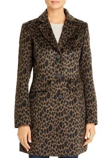 Laundry by Shelli Segal Leopard-Print Coat