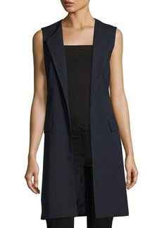 Laundry By Shelli Segal Long Open-Front Vest