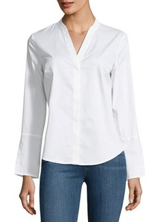 Laundry By Shelli Segal Long-Sleeve Poplin Shirt