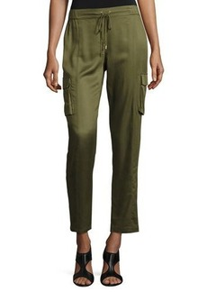 Laundry By Shelli Segal Luxe Drawstring Cargo Pants