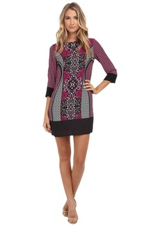 "Laundry by Shelli Segal ""Magic Spell"" Georgette Dress"
