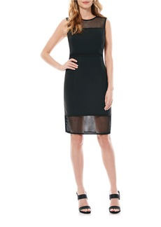 LAUNDRY BY SHELLI SEGAL Mesh Blocked Dress