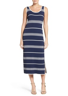 Laundry by Shelli Segal Midi Sweater Dress