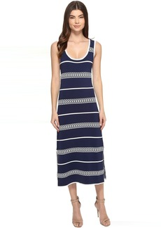 Laundry by Shelli Segal Midi Tank Sweater Dress