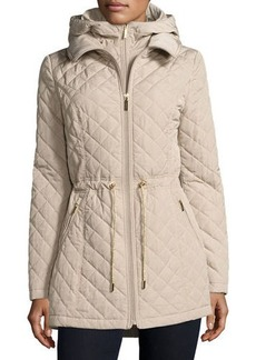 Laundry By Shelli Segal Mini-Quilted Wind-Resistant Jacket