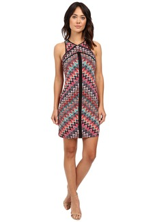 "Laundry by Shelli Segal ""Miss Only Me"" Matte Jersey Printed Dress"