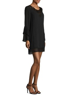 Laundry by Shelli Segal Mix Media Dress