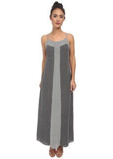 Laundry by Shelli Segal Mixed Print Maxi Dress