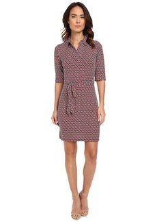 Laundry by Shelli Segal Movie Star' Matte Jersey Shirt Dress