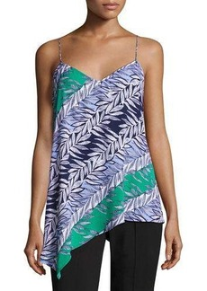 Laundry By Shelli Segal Multi-Leaf Slip Tank