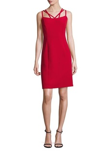 Laundry by Shelli Segal Multi-Strap Sheath Dress