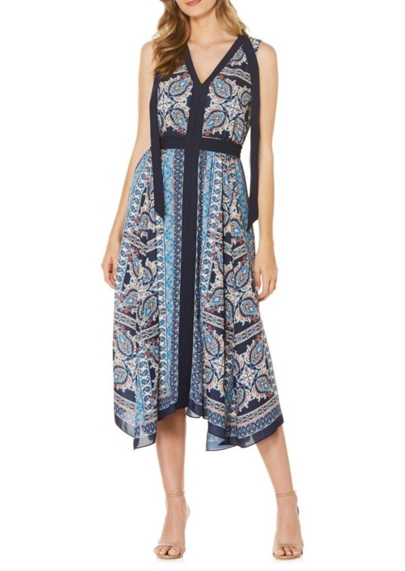 Laundry by Shelli Segal Oasis Paisley Printed Dress