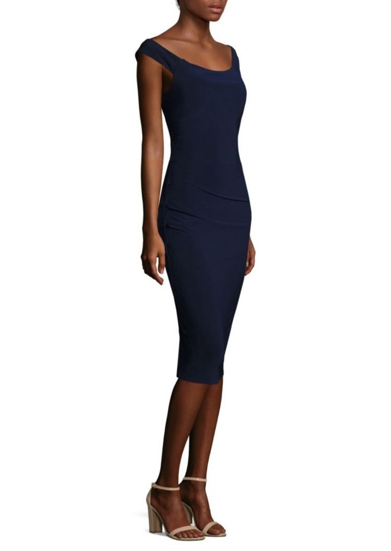 Laundry by Shelli Segal Off-the-Shoulder Cocktail Dress