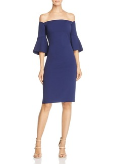 Laundry by Shelli Segal Off-the-Shoulder Dress