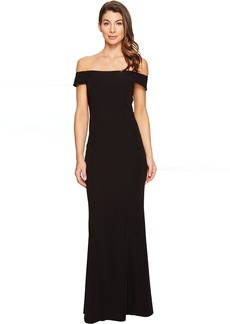 Laundry by Shelli Segal Off the Shoulder Gown