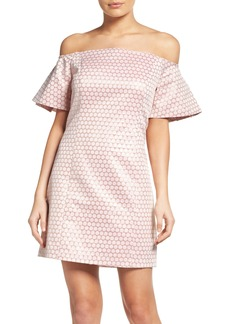 Laundry by Shelli Segal Off the Shoulder Sheath Dress