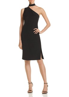 Laundry by Shelli Segal One-Shoulder Choker Dress - 100% Exclusive