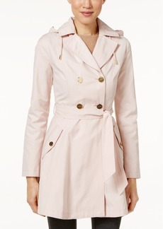 Laundry by Shelli Segal Petite Skirted Trenchcoat