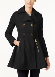 Laundry by Shelli Segal Petite Skirted Walker Coat