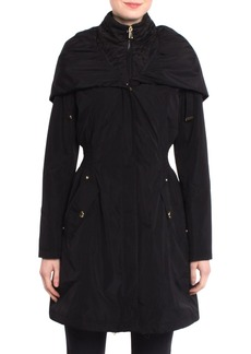 Laundry by Shelli Segal Pillow Collar Raincoat