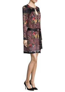 Laundry by Shelli Segal Placement Printed Sheath Dress