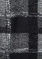 Laundry by Shelli Segal Plaid Skirted Wrap Coat