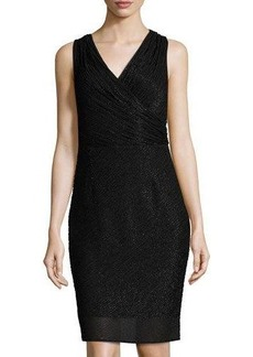 Laundry By Shelli Segal Sleeveless Beaded Sheath Dress