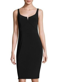 Laundry By Shelli Segal Sleeveless Jersey Sheath Dress
