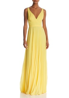 Laundry by Shelli Segal Pleated Chiffon Gown - 100% Exclusive