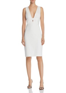 Laundry by Shelli Segal Plunging Cocktail Dress
