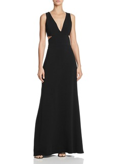 Laundry by Shelli Segal Plunging Cutout Gown - 100% Exclusive