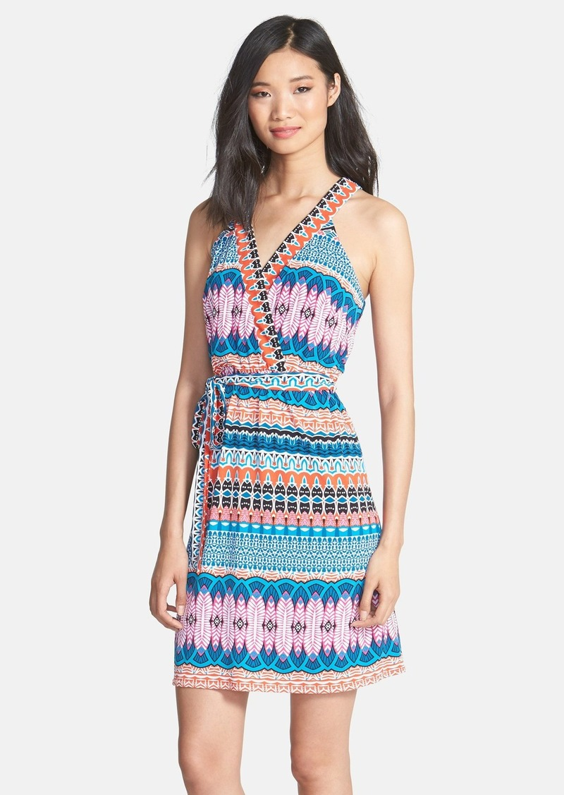 Laundry by Shelli Segal Print Jersey Dress