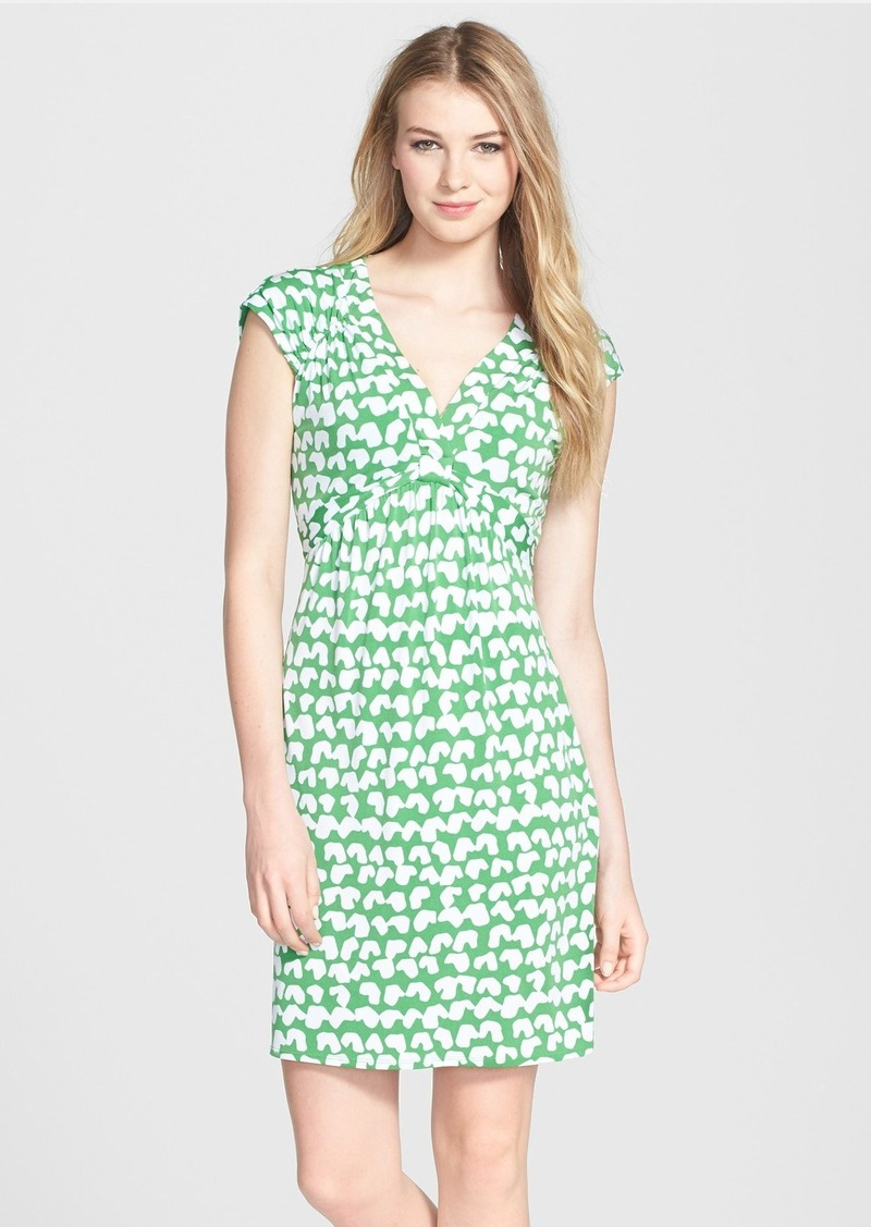 Laundry by Shelli Segal Print Jersey Sheath Dress (Regular & Petite)